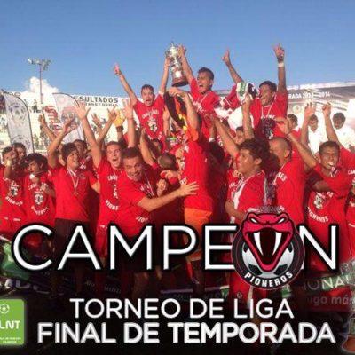 Vence Pioneros Cancún a Zacatepec y asciende a la Liga Premier de Segunda División