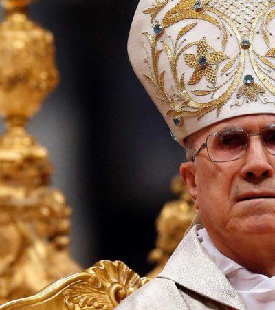 Ventila revista alemana supuesta malversación del ex secretario de Estado de El Vaticano; portavoz lo desmiente