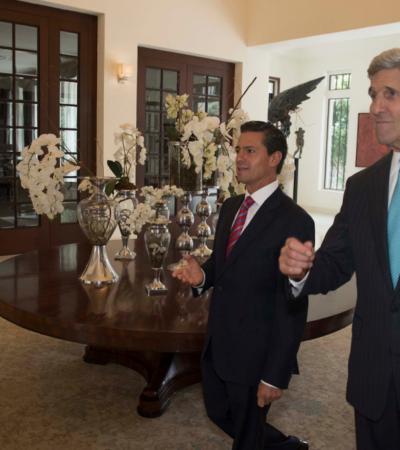 """""""Y GRACIAS A NUESTRA HABILIDAD…"""": Jutifica Kerry el espionaje de EU, pero calla sobre el caso mexicano"""