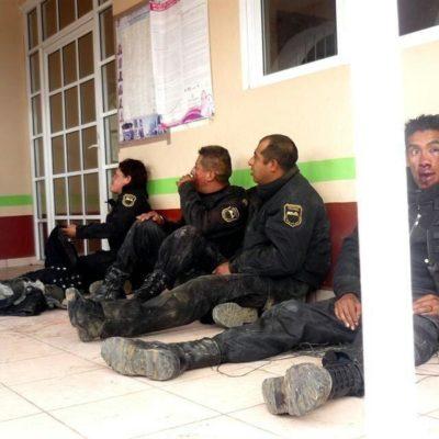 FUENTEOVEJUNA EN EL EDOMEX: Linchan pobladores de Atlautla a policías, y fallecen 2, por dar muerte a presunto talamontes