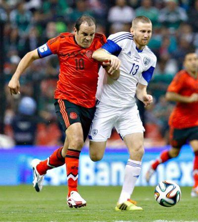 DESPEDIDA A MODO PARA EL TRI: Gana México 3-0 a un limitado Israel en último partido antes del Mundial; homenaje a Cuauhtémoc Blanco