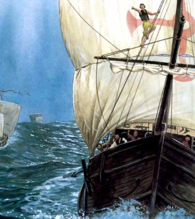 A más de 500 años del descubrimiento de América, habrían hallado en el mar Caribe una de las carabelas de Cristóbal Colón