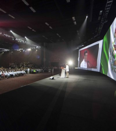 ARRANCA TIANGUIS EN CANCÚN: Con promesa de 180 mil mdp para infraestructura turística, busca EPN impulsar al sector