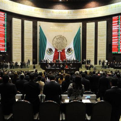 Avala Comisión Permanente del Congreso de la Unión exhorto a la ASF para auditar gobierno de Borge
