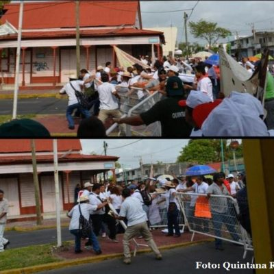 """""""FUIMOS LITERALMENTE AVASALLADOS"""": Carta abierta al Gobernador de un manifestante reprimido en desfile del 1 de Mayo"""