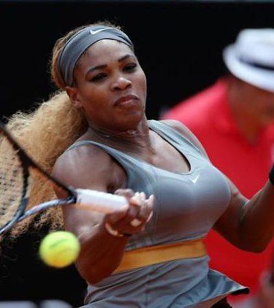 SE CONSAGRA SERENA EN ROMA: La tenista gana por tercera vez el Abierto de Italia ante Sara Errani