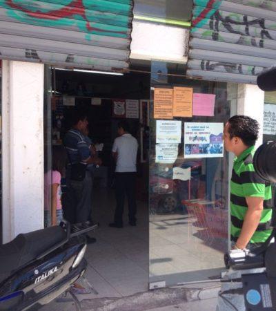 Detienen a 2 personas por denuncia de robo a tienda Dunosusa en Cancún