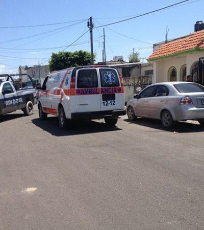 Atienden a adolescente que amenazaba con matarse en Chetumal