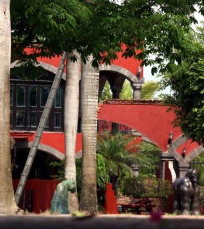 Mantienen militares custodia de hacienda en Bonfil ligada a líder templario Mario Casarrubias Salgado