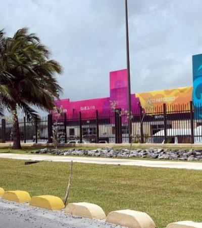 Denuncian robo en el Lakám Center al terminar el Tianguis Turístico de Cancún