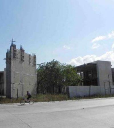 MONUMENTO A LA CORRUPCIÓN: Permanece en 'obra negra' el nuevo Palacio Municipal de Playa, pese a presupuesto de 86 mdp