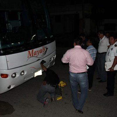 Muere maestro jubilado al ser arrollado por autobús Mayab en FCP