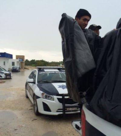 Trasladan a cárcel de Playa a 19 reos de Isla Mujeres