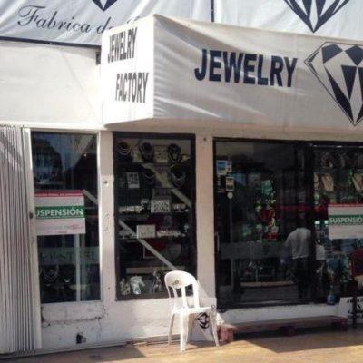 OPERATIVO CONTRA JOYERÍAS: Inmovilizan negocios en Isla Mujeres por incumplir normas oficiales