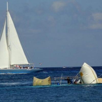 Confirman daño al arrecife por hundimiento del 'Albatros' en Cozumel
