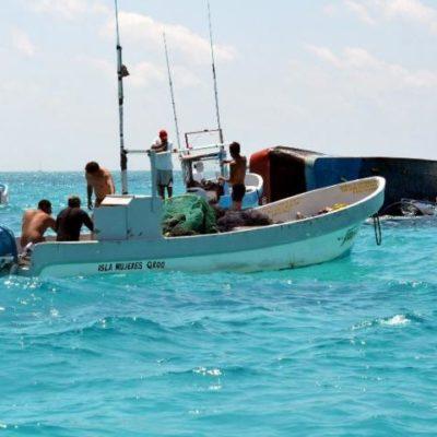 Ventilan presunta negligencia en el hundimiento de barco camaronero