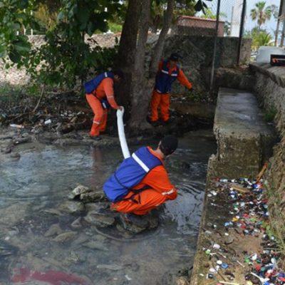 Contratan a empresa francesa para ubicar origen del derrame de combustible en Chetumal