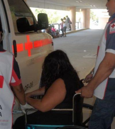 MANDÓ AL HOSPITAL A SU ESPOSA: Detienen a policía golpeador en Cancún
