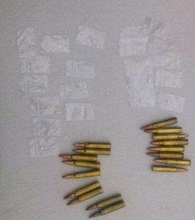 CAE 'PEZ GORDO': Capturan en la Zona Hotelera de Cancún a uno de los principales 'tiradores' de droga
