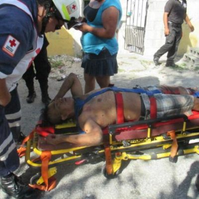 Con un balazo, policías impiden escape de presunto cobrador del narco en Cancún