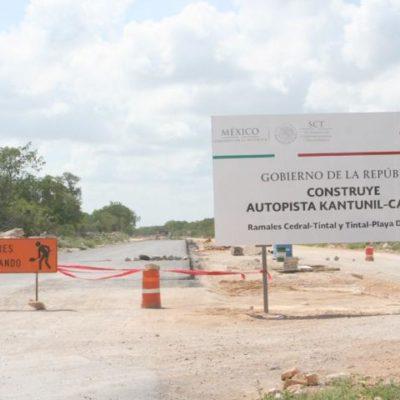 Advierten riesgo de suspensión de la construcción de carretera por adeudos de ICA