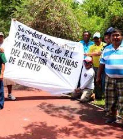 Se manifiestan contra un delegado de la Conanp en Yucatán en Asamblea del Fondo Mundial del Medio Ambiente