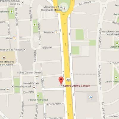 EN LAS NARICES DEL ALCALDE: En pleno día y casi enfrente del Palacio Municipal, empistolados atracan joyería en Cancún