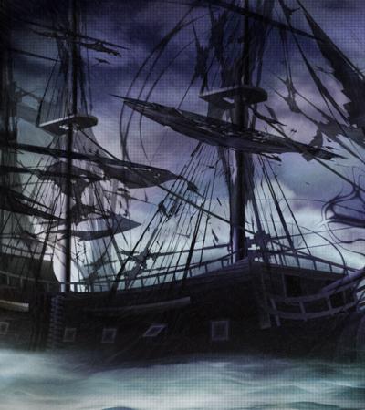 JACK SPARROW SE QUEDA SIN BARCO: Se hunde 'El Perla Negra' cuando navega entre dos islas del Caribe