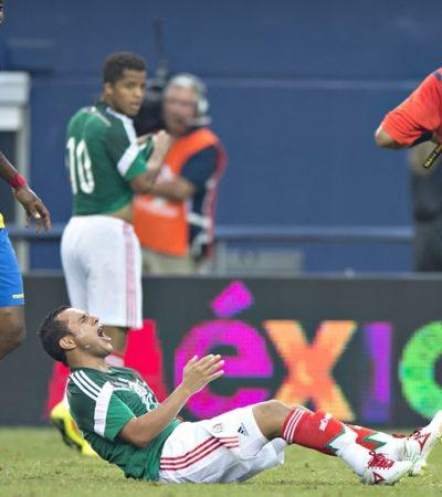 AMARGO TRIUNFO DE LA SELECCIÓN: Vence México 3-1 a Ecuador, pero sufre la baja definitiva de Luis Montes por lesión
