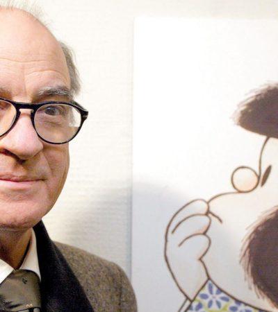 HONOR AL PADRE DE MAFALDA: Conceden a Joaquín Salvador Lavado, 'Quino', el premio Príncipe de Asturias
