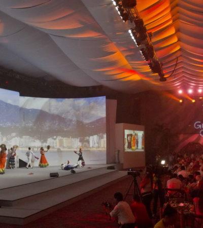 CIERRA TIANGUIS EN CANCÚN: Aseguran autoridades 'éxito sin precedentes' en feria turística y pasan estafeta a Guerrero