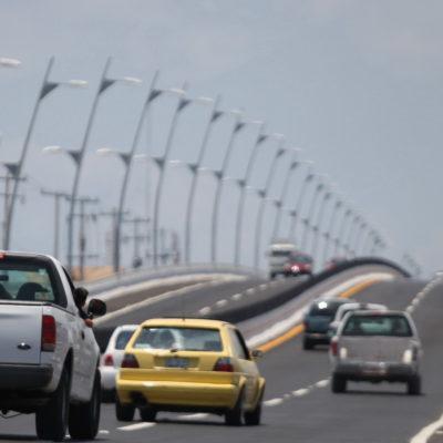 Por reparaciones, cerrarán parcialmente durante 10 días el puente de Playa del Carmen