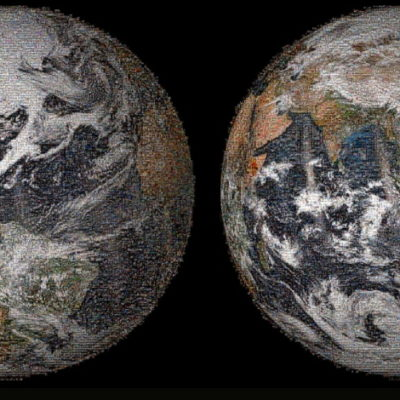 EL 'SELFIE' DE LA TIERRA: Con miles de fotos, la NASA tapiza el planeta en una imagen gigante