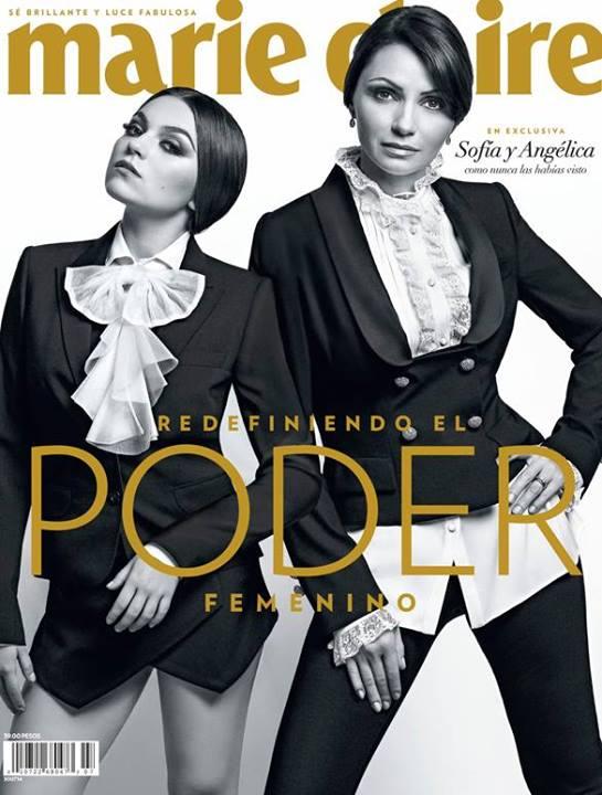 ¿REDEFINIENDO EL PODER FEMENINO?: Angélica Rivera y su hija posan para revista de modas