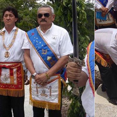 PAUL CARRILLO, 'MAESTRO MASÓN' POR LA VÍA DEL 'FAST TRACK': Embaucan al Alcalde de Cancún con nombramiento 'patito' y aparece junto a ex subdirector de Tránsito, cesado por acoso sexual
