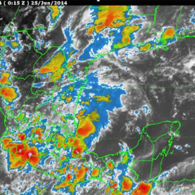 Anticipan fuertes lluvias y hasta torbellinos por onda tropical