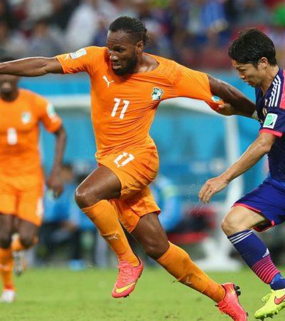 ELEFANTES CONTRA SAMURÁIS: En 2 minutos, Costa de Marfil dio la voltereta y venció 2-1 a Japón