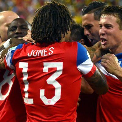 SE ESTRENAN 'GRINGOS' CON EL GOL MÁS RÁPIDO: Vence EU 2-1 a Ghana en partido que casi se les sale de control