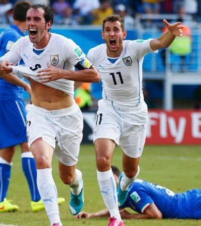 ECHA URUGUAY A ITALIA: Con mordida y golazo, los charrúas liquidan a otro de los grandes equipos europeos
