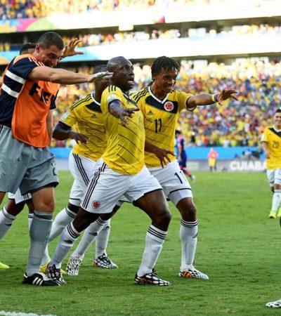 TERMINA COLOMBIA CON PASO PERFECTO: Golea 4-1 a Japón para terminar con 9 puntos en el grupo C; enfrentará a Uruguay