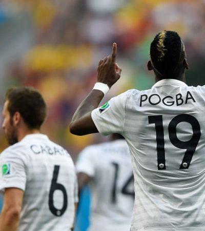 SIN LUCIR, AVANZA FRANCIA: Los galos se imponen 2-0 a Nigeria y podrían enfrentar a Alemania