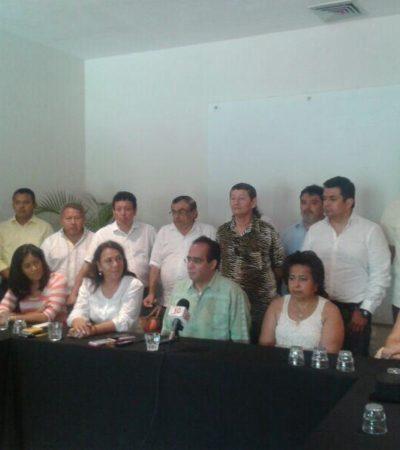 Respalda PRD movimiento contra el despojo de tierras a habitantes de Holbox