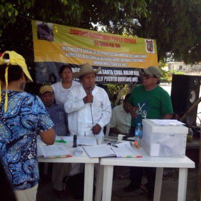 CONSULTA POPULAR POR SIAN KA'AN: Demandan en FCP revisar decreto de creación de reserva de la Biosfera por marginar a mayas