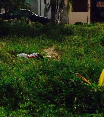 Ejecución de joven en la Región 211 de Cancún, por 'limpia' de 'chapulines'