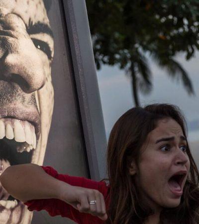 ¡TODOS QUIEREN SER MORDIDOS!: Provoca furor en Brasil anuncio de Luis 'El Caníbal' Suárez