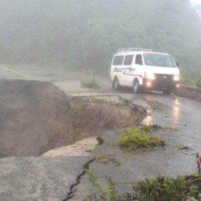 Declaran desastre en Chiapas y emergencia en Tabasco por lluvias