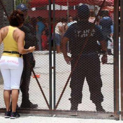 TENSA CALMA EN LA PRISIÓN: Despliegan fuerte presencia policiaca para mantener el control en el penal de Cancún