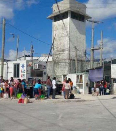 Tras amotinamiento, aumentan medidas de seguridad para las visitas a la cárcel de Cancún