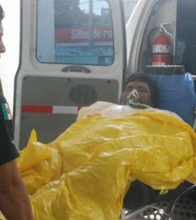 CASI PIERDE UN BRAZO: Hombre es propelado cuando esnorqueleaba en Puerto Morelos
