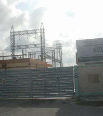 Reportan explosión e incendio en la subestación Nizuc de la CFE en Cancún sin heridos